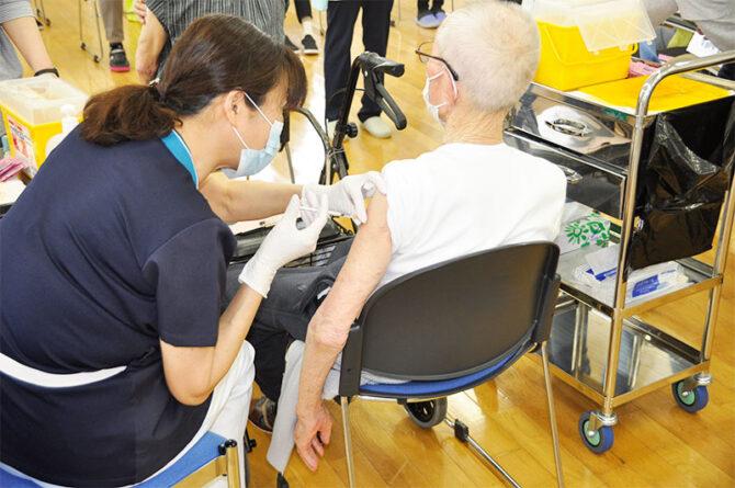 新型コロナウィルスワクチン予防接種